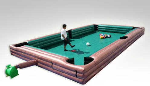 This Bounce House Also Happens to Be a Gigantic Pool Table