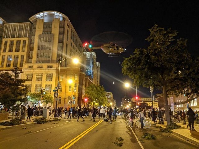 military helicopters in washington, dc