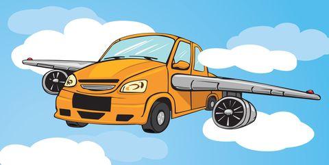 Cartoon, Vehicle, Motor vehicle, Car, Transport, Mode of transport, Illustration, Tow truck, City car, Truck,