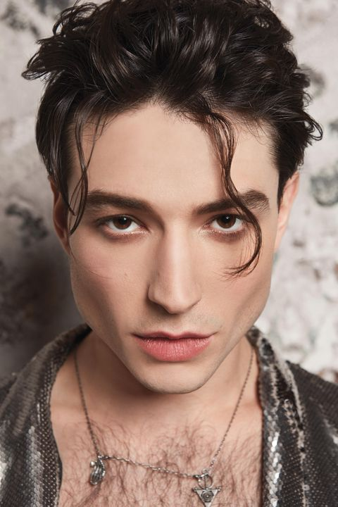 Makeup is Both Personal and Performative for Ezra Miller