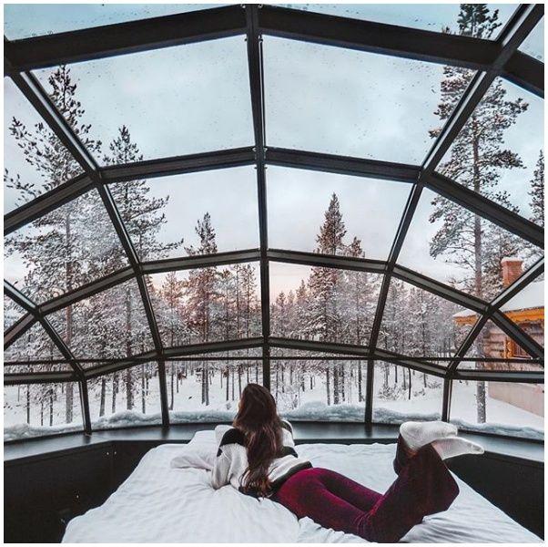 Snow, Winter, Architecture, Daylighting, Window, Tree, Recreation, Glass, Leisure, Ice,