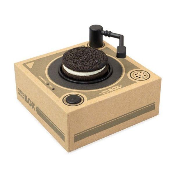 oreo紙唱盤