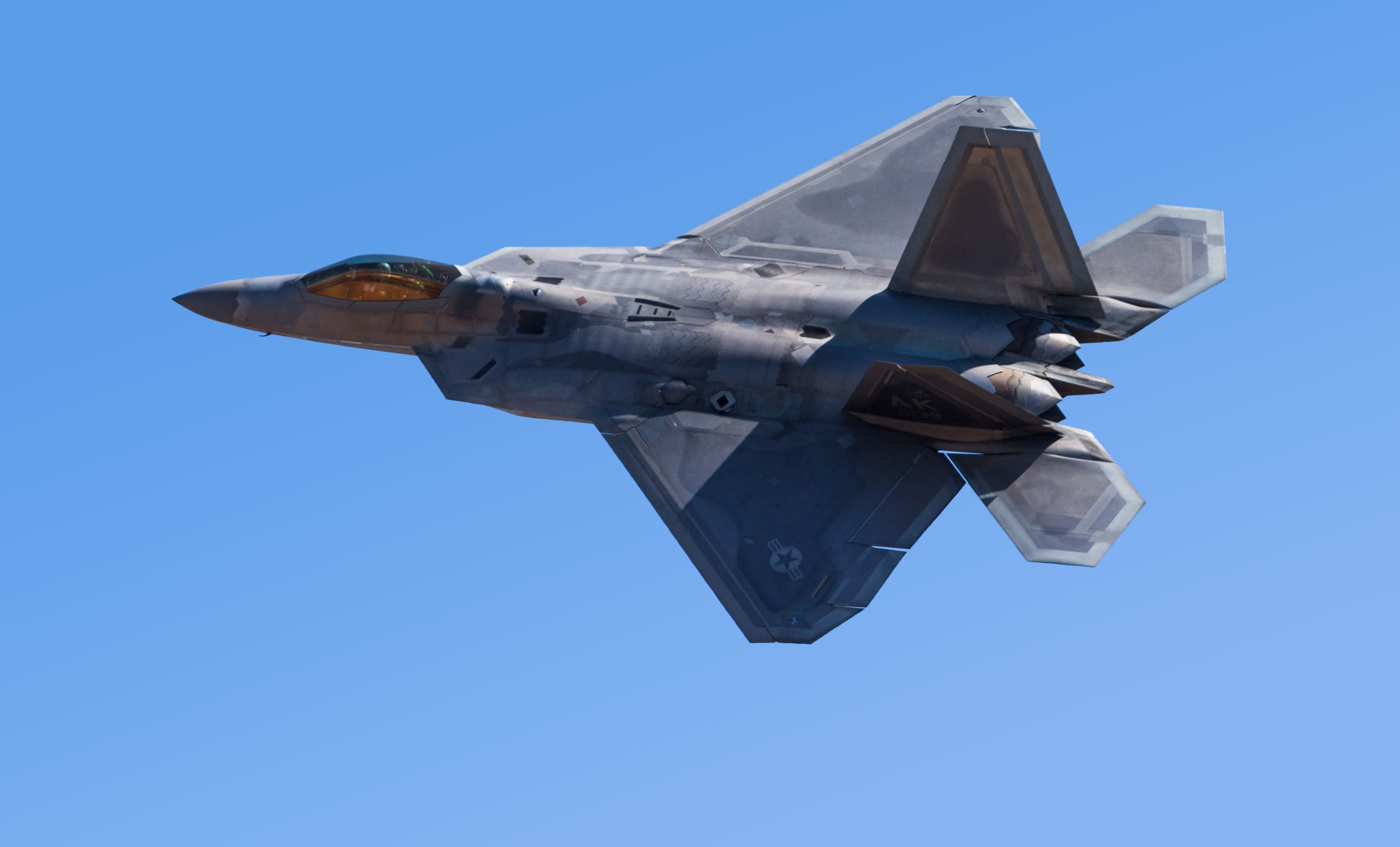 after six years damaged f 22 raptor will fly again