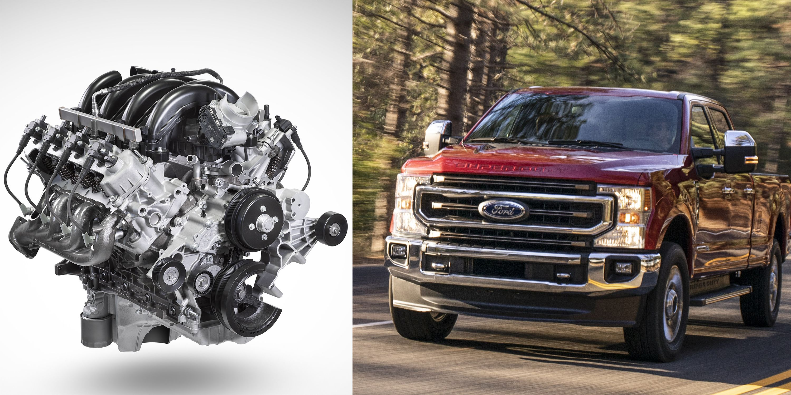 Why Ford Made a New 7 3-Liter Gas Pushrod V8 in 2019