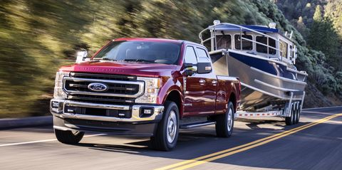 2020 ford super duty takes heavy-duty torque and towing crowns