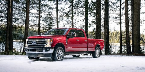 Ford Keeps It Old- with the All-New 7.3-Liter Gas V8 on 7.3 fuel harness, 7.3 engine harness, 7.3 wire harness, 7.3 alternator harness,