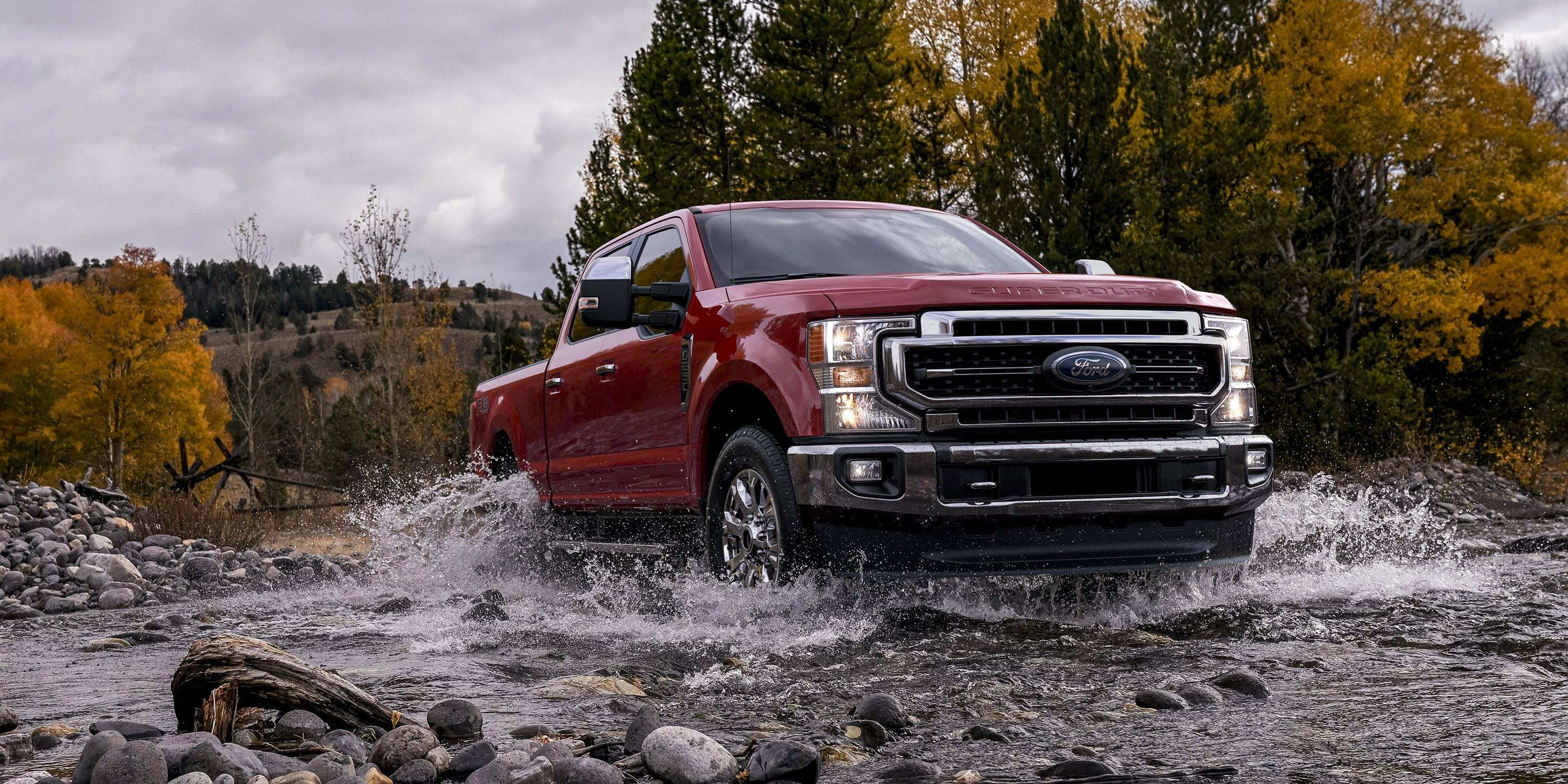2020 Ford Super Duty - New F-250 and F-350 Debut With 7.3-Liter Gasoline V8