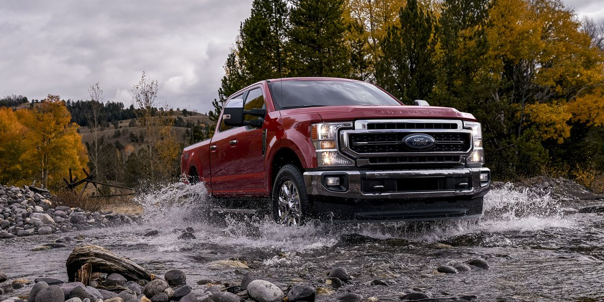 2020 Ford Super Duty New F 250 And F 350 Debut With 7 3