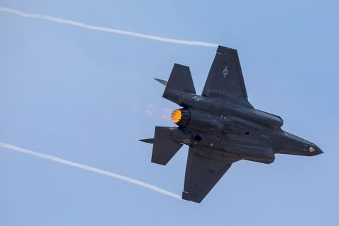Lockheed Martin Aeronautics Photo by Angel DelCueto        Job Reference Number: FP170856 Rein        WMJ Reference Number: 17-08485        Customer: Mike Rein, F-35 Communications       Event: 2017 SIAE Paris Airshow        Location: Le Bourget, Paris, France        Date: 06-20-2017