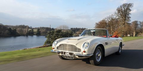 Aston Martin's Electric Conversion Kit for Classic Cars Is
