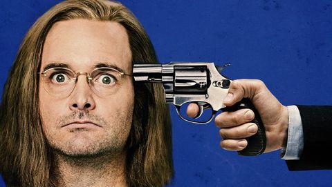 Poster, Movie, Trigger, Shooting sport, Revolver, Recreation, Photo caption, Book cover, Album cover,