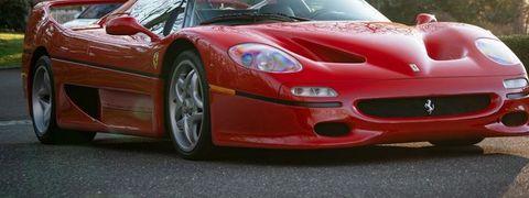 Land vehicle, Vehicle, Car, Supercar, Ferrari f50, Sports car, Ferrari f50 gt, Race car, Performance car, Automotive design,
