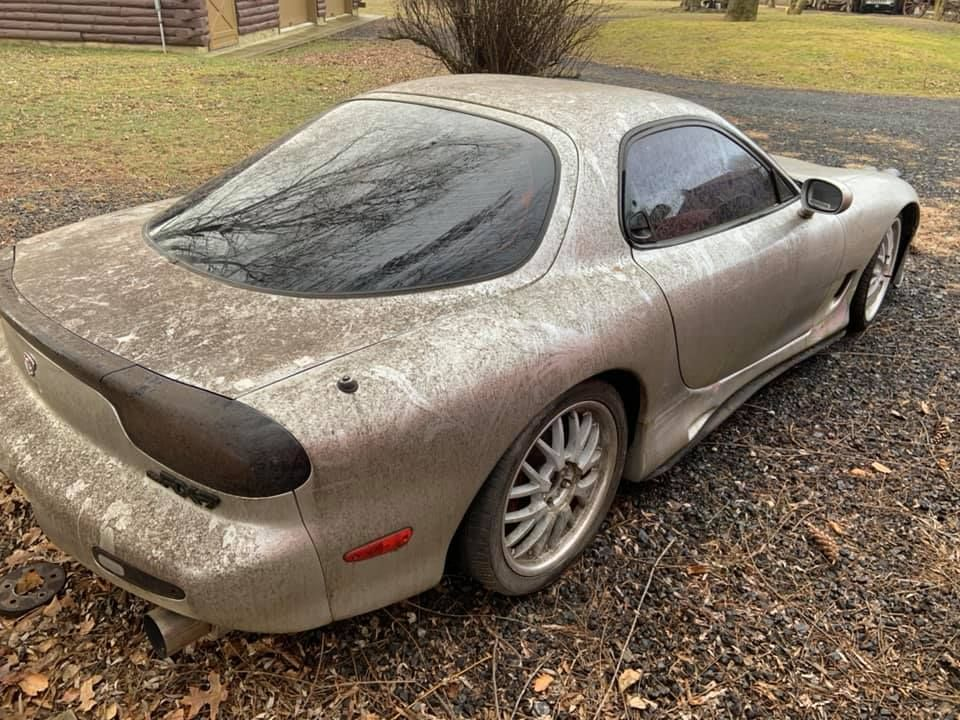 Someone Please Save This Poor FD Mazda RX-7
