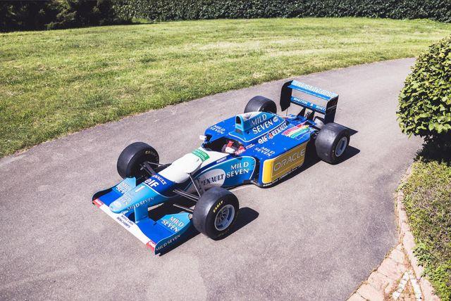1993 benetton b193b02 formula 1 car