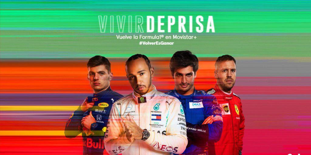 Arranca la Fórmula 1. Así te lo contará Movistar+