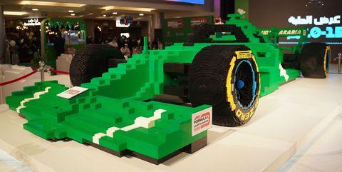 f1 réplica de lego en arabia saudi récord guinness