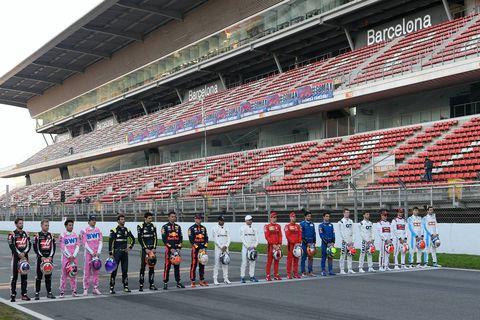 F1 2020 - Test pretemporada - Día 1