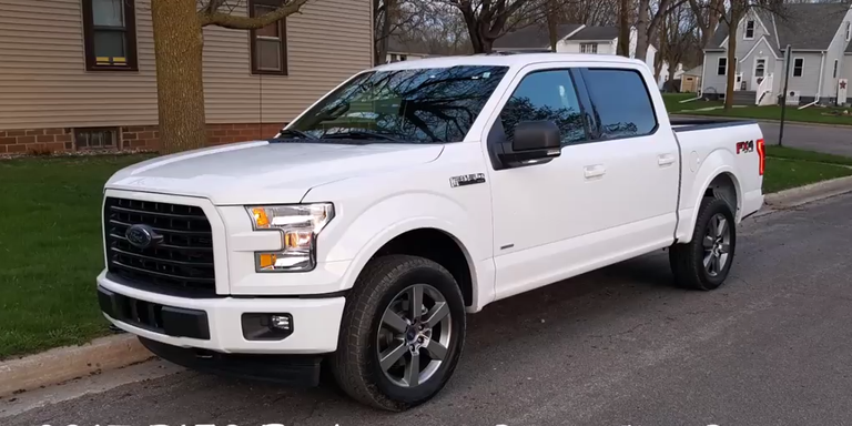 Watch a tuned f 150 ecoboost beat a hellcat and run a 12 second youtubemnelite sciox Images