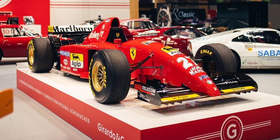 Michael Schumacher S First Ferrari F1 Car For Sale 412 T2 Sale