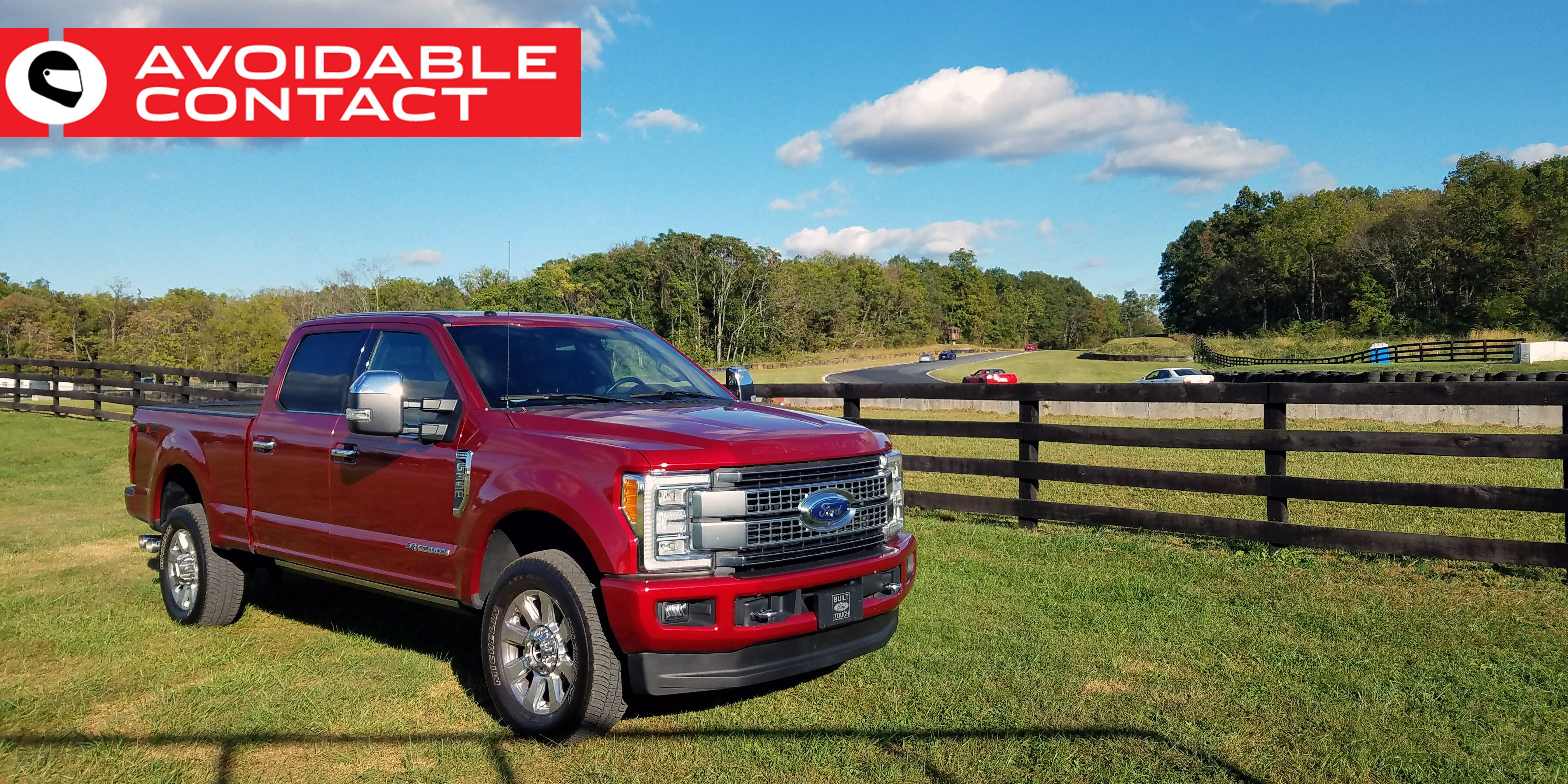 The 2017 F350 Platinum Is A Malaise Era Luxury Car For The Horse
