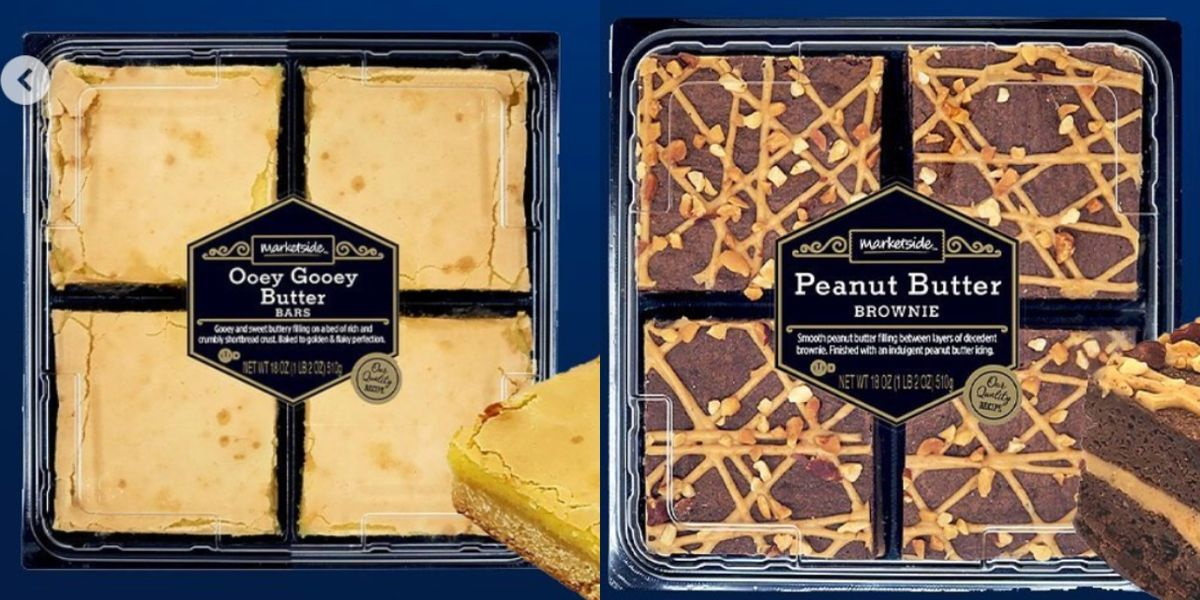 Walmart Is Rolling Out All New Bakery Treats Like Peanut Butter Brownies and Gooey Butter Bars