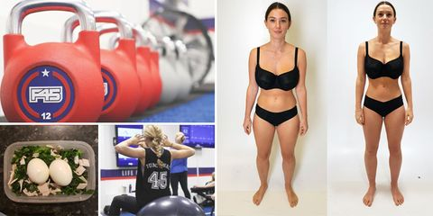 F45 Challenge review: how I lost 7% body fat in 8 weeks