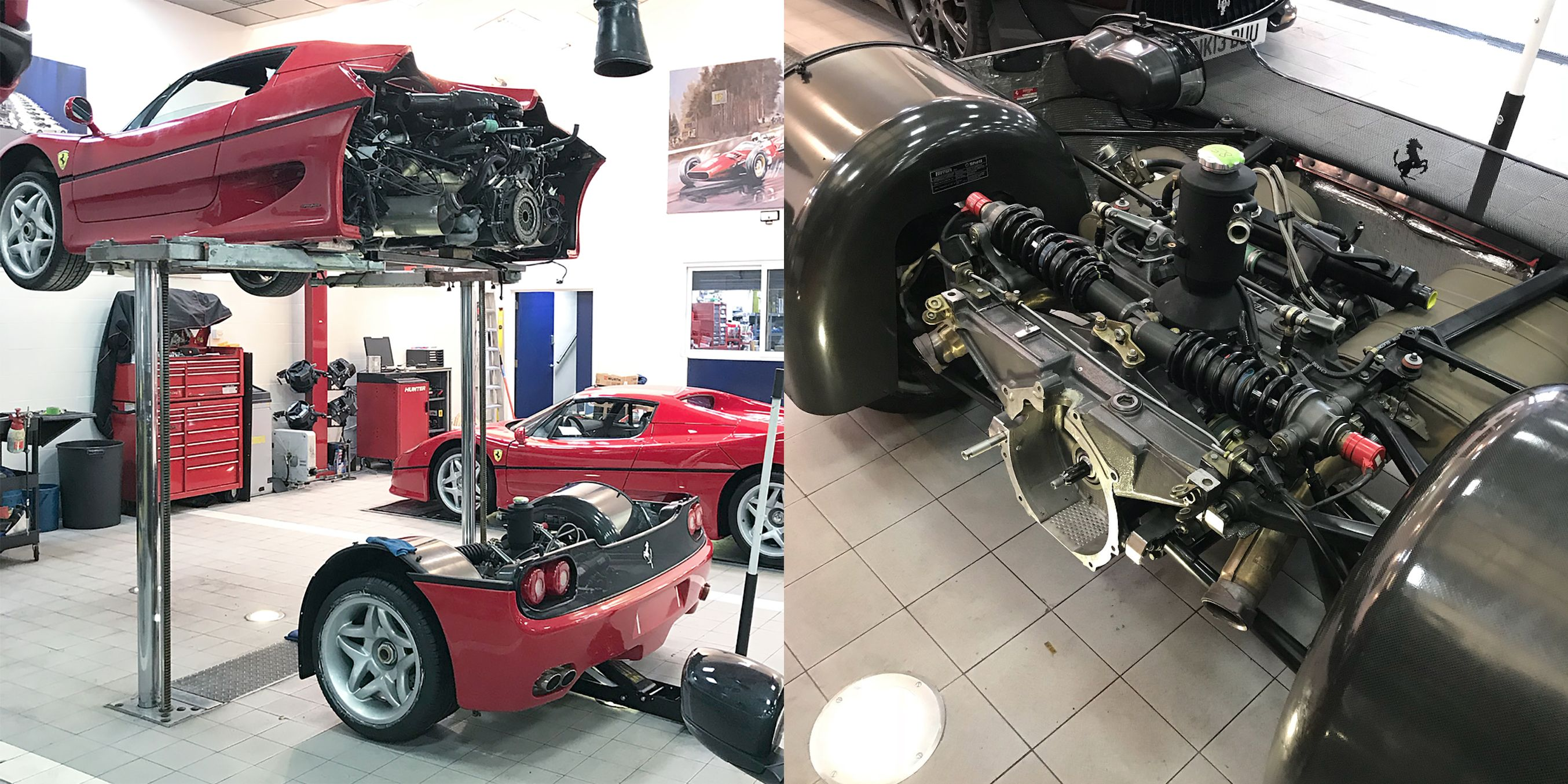 Ferrari F50 Clutch Change How To Pictures And Video