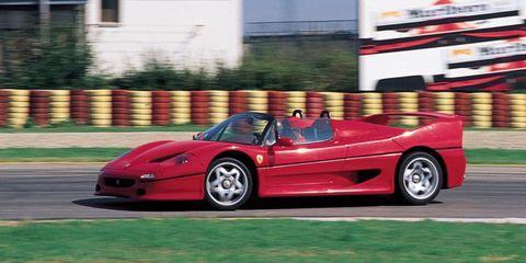 All Ferrari Models List Of Ferrari Cars Vehicles Ranker >> The 25 Greatest Cars Of The 1990s Best 90s Cars