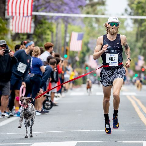 Dog Mile World Champ Is Already Looking to Go Sub-4:00 With His Pup Next Year