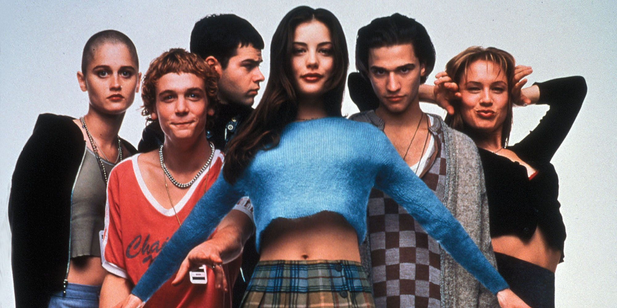 RELEASE DATE: Sep 22, 1995. MOVIE TITLE: Empire Records. STUDIO: New Regency Pictures. PLOT: A day in the life of the employees of Empire Records. Except this is a day where everything comes to a head for a number of them facing personal crises - can they pull through together? And more importantly, can they keep their record store independent and not swallowed up by corporate greed? PICTURED: DEBI MAZAR as Jane, RENEE ZELLWEGER as Gina, Movie Art.
