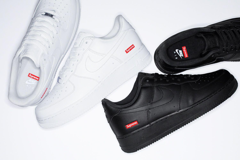Supreme x Nike Air Force 1: vuelven las zapatillas más deseadas