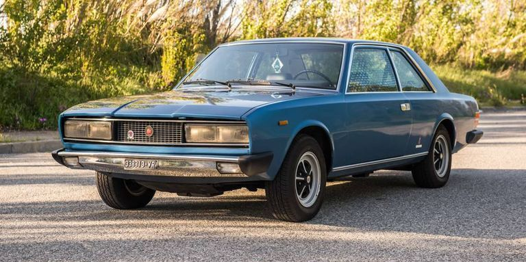 The Fiat 130 Coupe Is One of Pininfarina's Most Elegant Designs