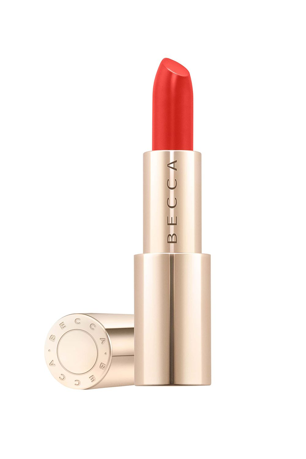 Flashy Coral Becca Ultimate Lipstick Love in Poppy, $24 SHOP IT The onset of spring means you can't shy away from striking shades like this bright coral. What's even better is that your lips will never get dry or chapped because this formula features hyaluronic acid, which will keep your skin moisturized to the max.