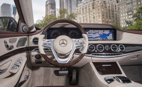 2019 Mercedes-Benz S450