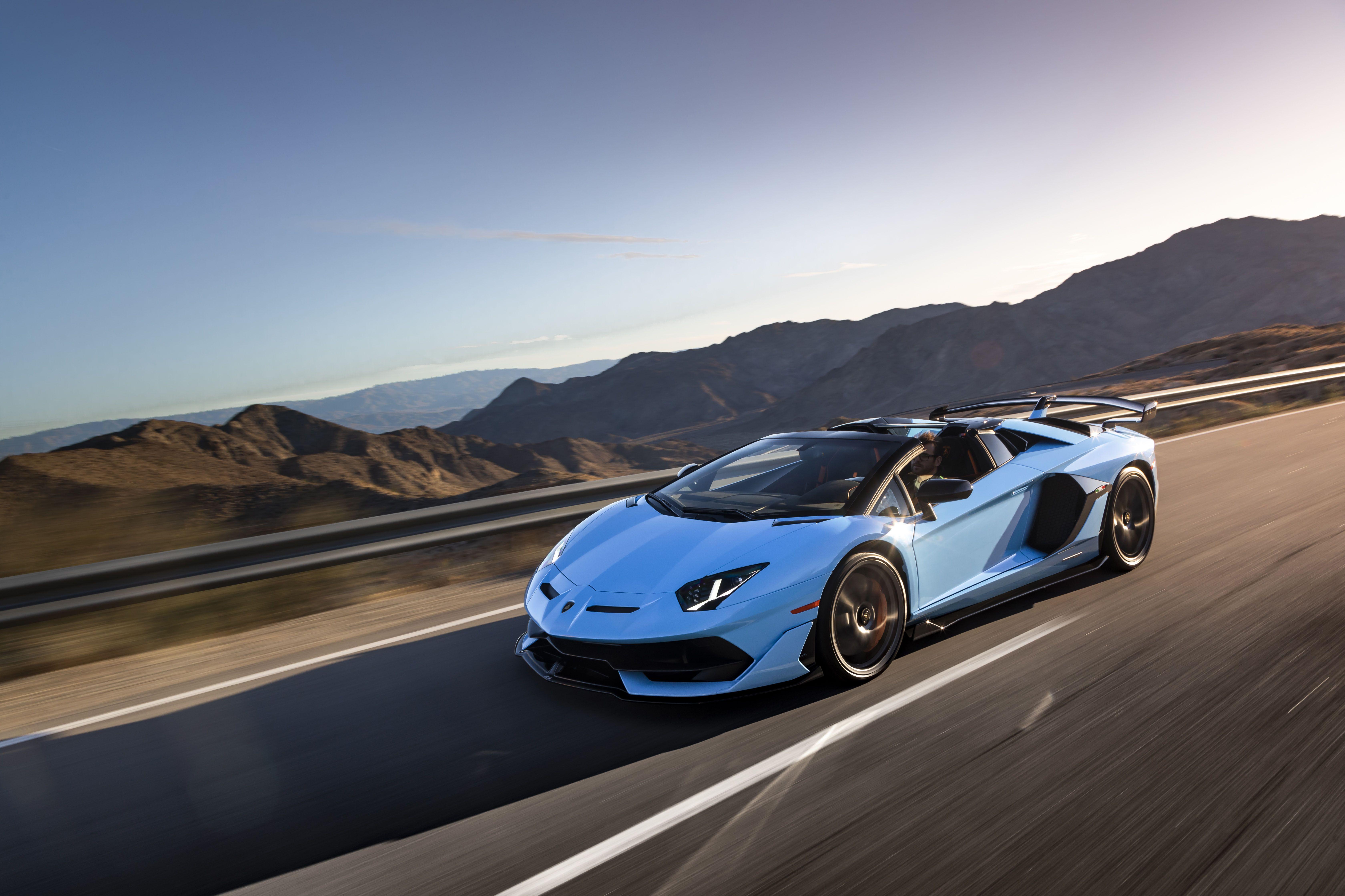 The Lamborghini Aventador SVJ Roadster Is the Ultimate