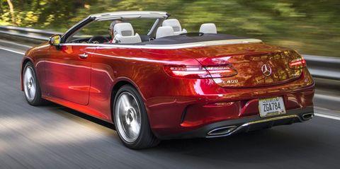 2020 mercedes benz e450 cabriolet rear