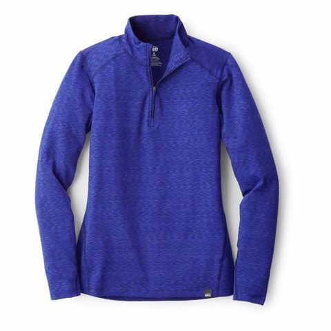 Clothing, Cobalt blue, Sleeve, Blue, Violet, Outerwear, Collar, Purple, Long-sleeved t-shirt, Polar fleece,