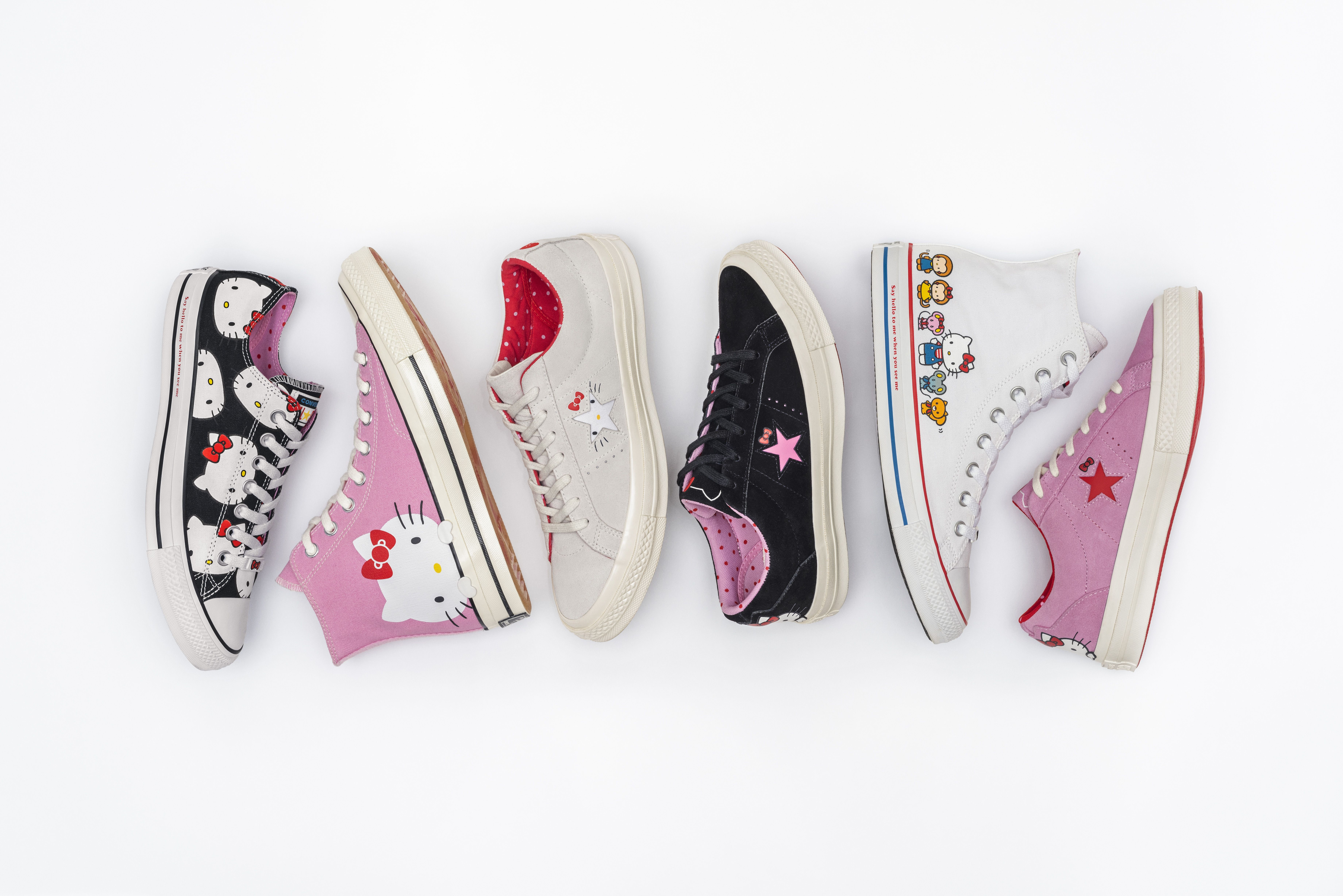 Fans de 'Hello Kitty': estas son las zapatillas que vais a