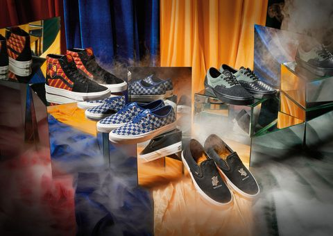 387b2b98 Vans Harry Potter Sneakers - Vans x Harry Potter Sneaker and Apparel ...