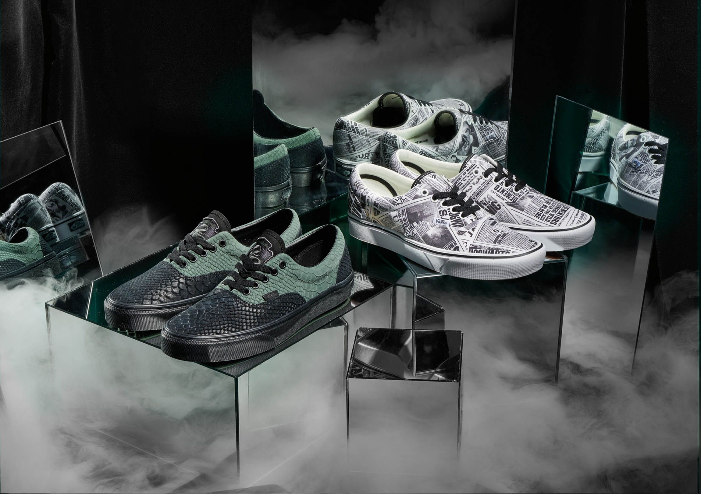 6ef149a9950 Vans x Harry Potter Collaboration 2019 Full Lookbook - Best Sneakers from  Vans Harry Potter Line
