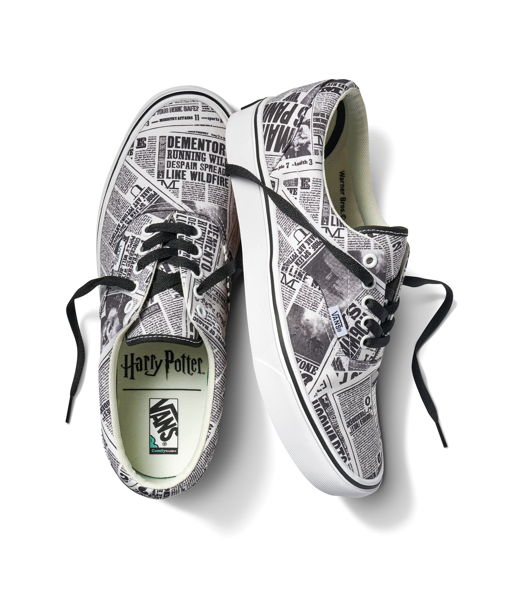 zapatillas vans de harry potter