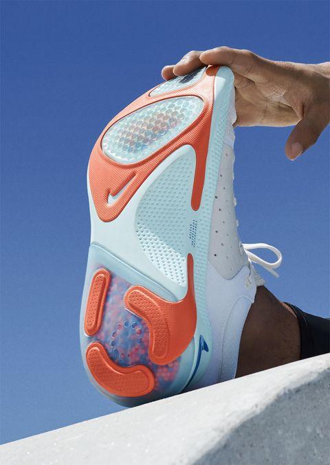 Footwear, Shoe, Orange, Outdoor shoe, Athletic shoe, Sneakers,