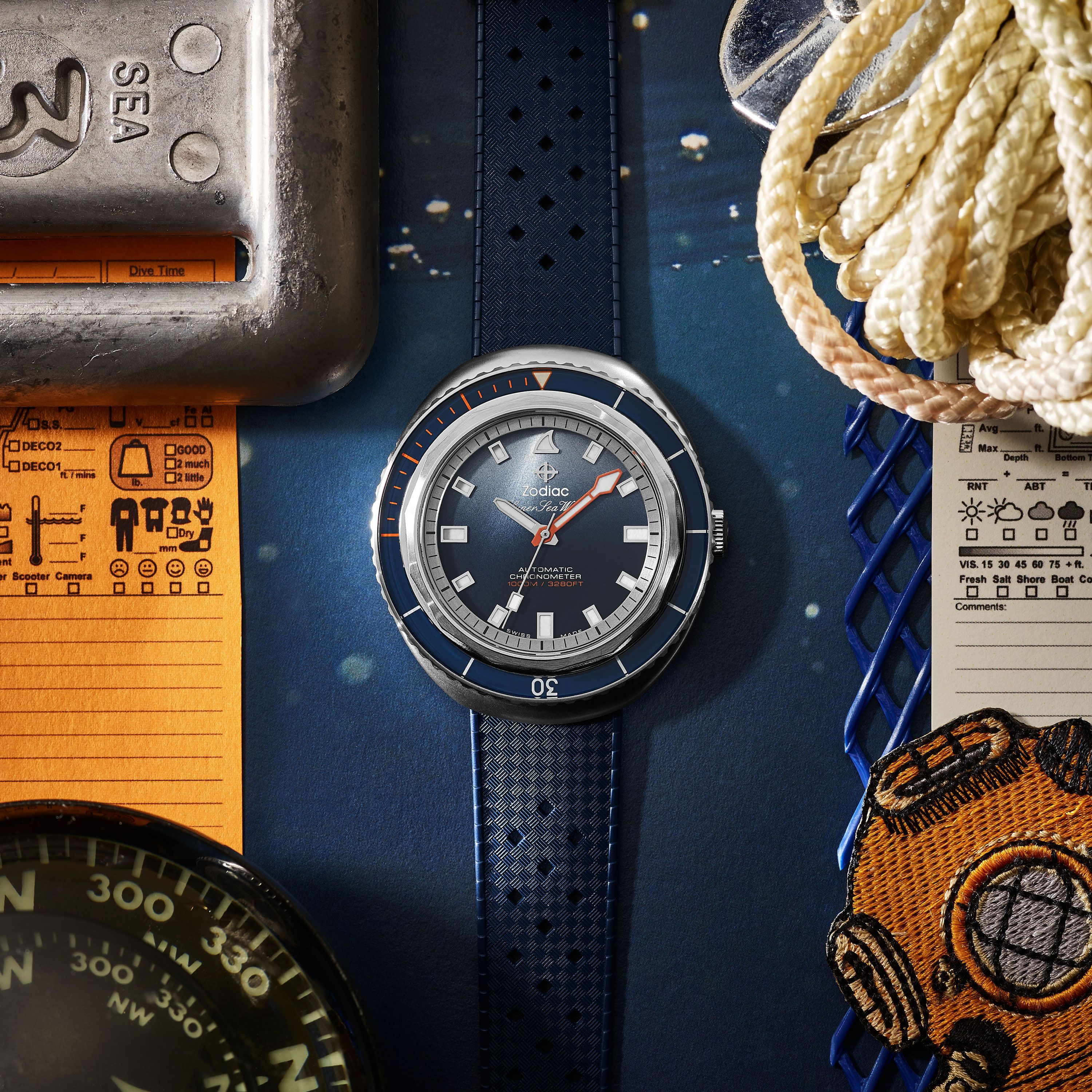 Zodiac Teamed Up With Nature Photographer Andy Mann to Break the Rules of Swiss Timepieces