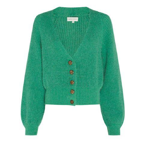 fabienne chapot green starry cardigan