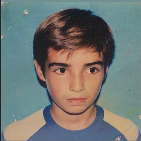 Fabio Colloricchio de pequeño