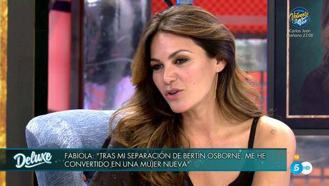fabiola martínez habla de su separación de bertín osborne en 'viernes deluxe'
