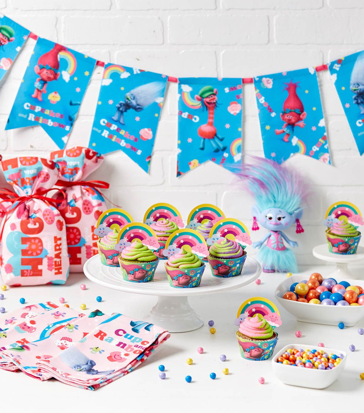 23 'Trolls' Birthday Party Ideas Your Little One Will Flip Over