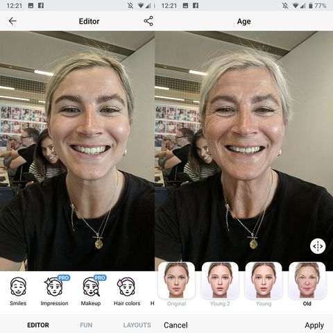The old people app everyone is using | FaceApp
