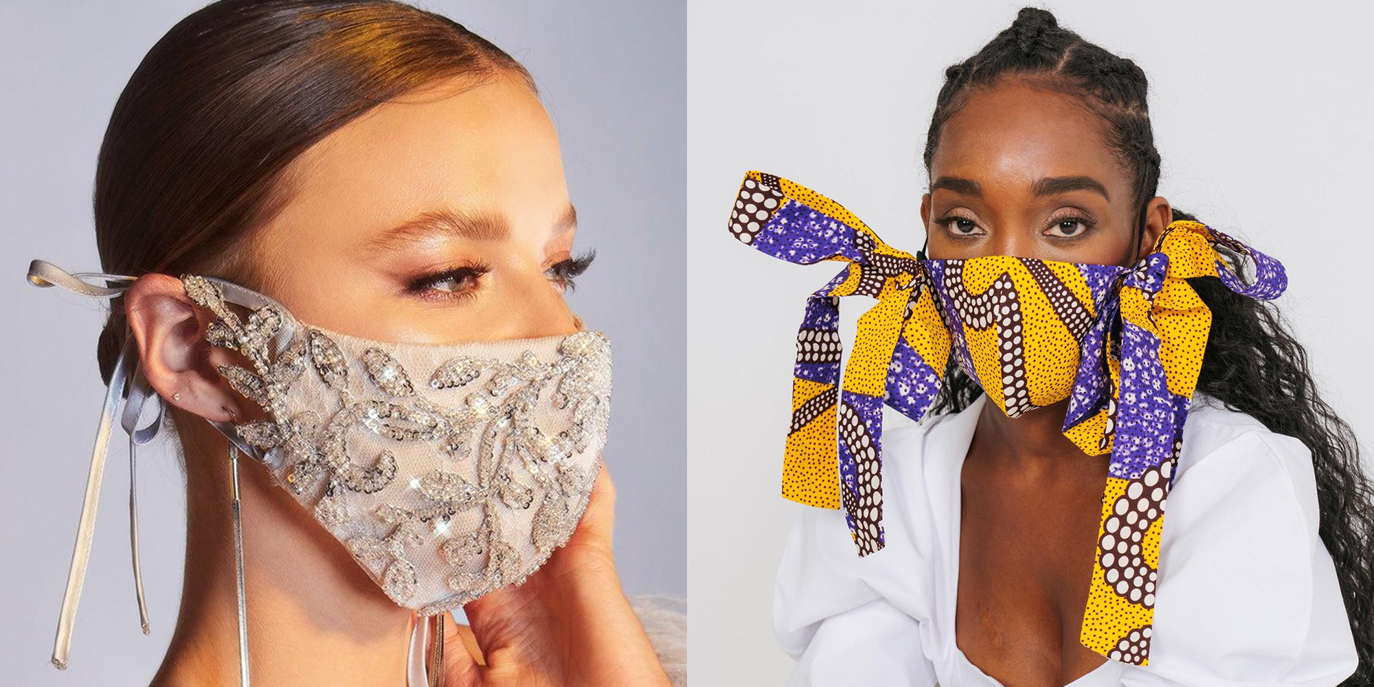 18 Wedding Face Masks That Are Actually *So* Stunning