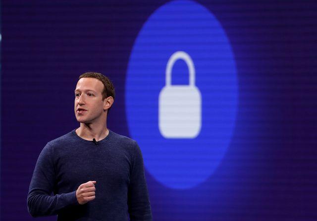 el ceo de facebook, mark zuckerberg, habla durante la conferencia de desarrolladores de facebook f8 el 30 de abril de 2019 en san josé, california